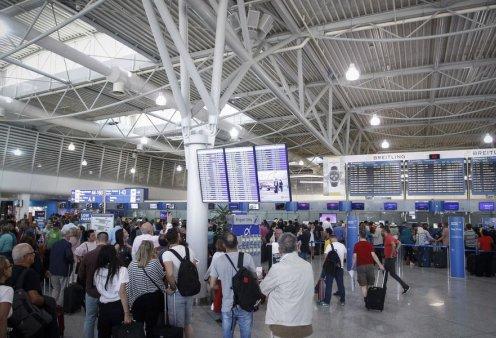 Good news: Στα 17 εκατ. το α' πεντάμηνο, ο αριθμός των επιβατών στα αεροδρόμια - Κυρίως Φωτογραφία - Gallery - Video
