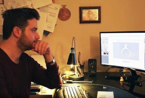 Ανδρέας Μαθιός: Ο πρώτος στην Ελλάδα κατασκευαστής custom made μονόπετρων - Όλο το success story - Κυρίως Φωτογραφία - Gallery - Video
