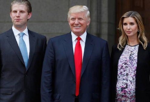 Σε πελάγη ευτυχίας πλέει ο Ντόναλντ Τραμπ - Έγινε παππούς για δέκατη φορά - Ο γιος του Έρικ απέκτησε ένα πανέμορφο κοριτσάκι (φώτο) - Κυρίως Φωτογραφία - Gallery - Video
