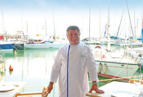 Επιτέλους διακοπές για τον σεφ Λευτέρη Λαζάρου - Στα Χανιά με τους δικούς του για διακοπές & κρητικούς μεζέδες (φώτο) - Κυρίως Φωτογραφία - Gallery - Video