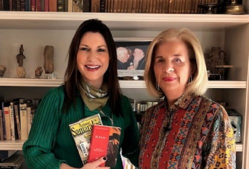 Αποκλειστική συνέντευξη της Ελένης Σαμαράκη: Ο άντρας μου ο Αντώνης-Γνωριμία, γάμος σε μία εβδομάδα - 40 χρόνια κοινής ζωής - Θάνατος χωρίς τάφο (βίντεο)   - Κυρίως Φωτογραφία - Gallery - Video