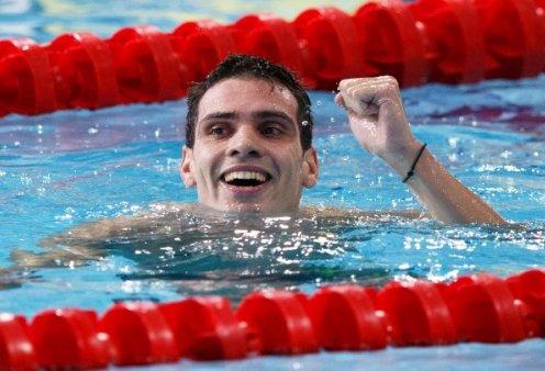Ξεπέρασε κάθε φαντασία ο Βαζαίος - Πρωταθλητής Ευρώπης με χρυσό μετάλλιο στα 200μ. πεταλούδα - Δύο πανελλήνια ρεκόρ & δύο μετάλλια για το μυθικό αθλητή στη Γλασκώβη - Κυρίως Φωτογραφία - Gallery - Video