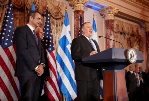 Επιστολή Πομπέο σε Κυριάκο Μητσοτάκη: «Η Ελλάδα σύμμαχος κλειδί και κρίσιμος παράγοντας στην αν. Μεσόγειο και τα Βαλκάνια»  - Κυρίως Φωτογραφία - Gallery - Video