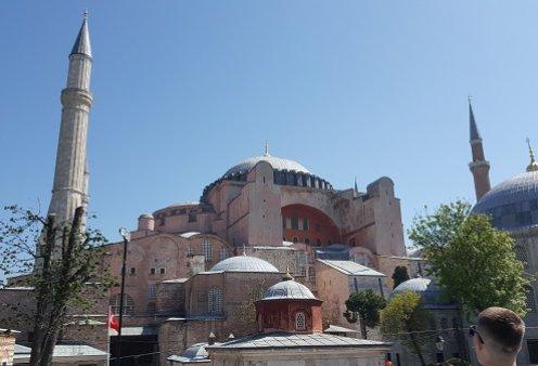 Αγιά Σοφιά: Άνοιγει ο δρόμος για την μετατροπή της σε τζαμί - Το τουρκικό Συμβούλιο της Επικρατείας ακύρωσε την απόφαση του 1934 - Κυρίως Φωτογραφία - Gallery - Video