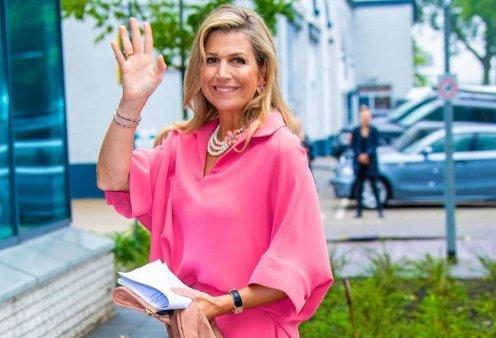 Η ωραιότερη βασίλισσα Μάξιμα της Ολλανδίας με φανταστικό ροζ deux pièces – Δεν φοβάται να δείξει τις ρυτίδες της (Φωτό)  - Κυρίως Φωτογραφία - Gallery - Video