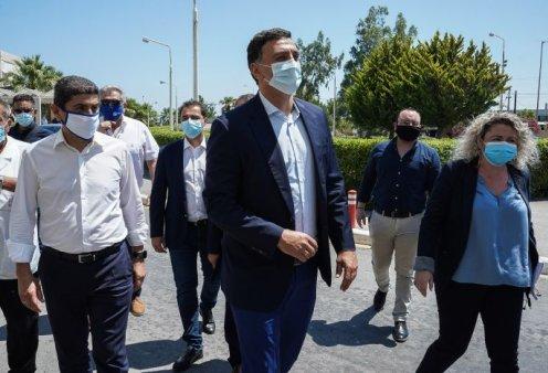 Στην Κρήτη ο Κικίλιας δίνει το παράδειγμα: Συσκέψεις παντού με μάσκες και αντισηπτικά (φωτο) - Κυρίως Φωτογραφία - Gallery - Video
