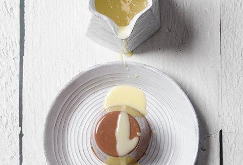 Ο Στέλιος Παρλιάρος μας προτείνει υπέροχη πανακότα με σοκολατούχο γάλα  - Κυρίως Φωτογραφία - Gallery - Video