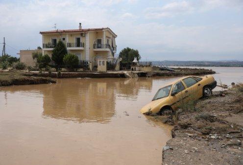 Εύβοια πλημμύρες: 7 νεκροί & ένας αγνοούμενος - Ανάμεσά τους & ένα βρέφος 8 μηνών - Κυρίως Φωτογραφία - Gallery - Video