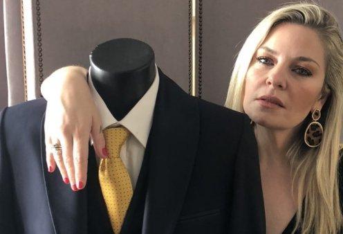 Αυτή είναι η πρώτη συλλογή ρούχων της Ελισάβετ Μουτάφη στον θρυλικό οίκο μόδας του θείου της Μάκη Τσέλιου (φωτό - βίντεο) - Κυρίως Φωτογραφία - Gallery - Video