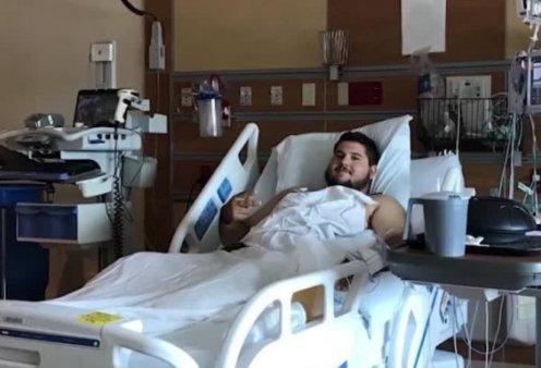 Κορωνοϊός – Η ιστορία του 21χρονου ασθενή που έπαθε καρδιακή & αναπνευστική ανεπάρκεια – Έδωσε μάχη για τη ζωή του (Φωτό & Βίντεο)  - Κυρίως Φωτογραφία - Gallery - Video