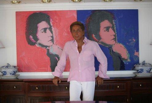 Σπάνια vintage φωτογραφία: Ο Valentino με τον Andy Warhol, τον Mikhail Baryshnikov & την Brooke Shields - Κυρίως Φωτογραφία - Gallery - Video