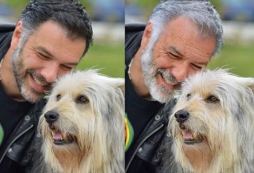 Ο Γρηγόρης Αρναούτογλου και η συγκινητική ανάρτηση για το σκύλο του τον Άρνι που δεν ζει πια (φωτό) - Κυρίως Φωτογραφία - Gallery - Video