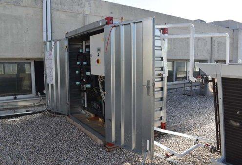 Good news: Το ΕΜΠ πρωτοπόρησε με νέα μονάδα ηλιακής ψύξης στις εγκαταστάσεις του - Κυρίως Φωτογραφία - Gallery - Video
