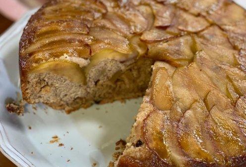 Αργυρώ Μπαρμπαρίγου: Η υπέροχη συνταγή της για ανάποδη μηλόπιτα - Ένα φανταστικό γλυκό! (βίντεο) - Κυρίως Φωτογραφία - Gallery - Video