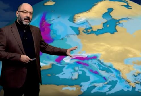 Ο Σάκης Αρναούτογλου προβλέπει ψυχρή εισβολή & πολλές βροχές από Δευτέρα – Σκηνικό χειμώνα για μια ολόκληρη εβδομάδα (Βίντεο)  - Κυρίως Φωτογραφία - Gallery - Video