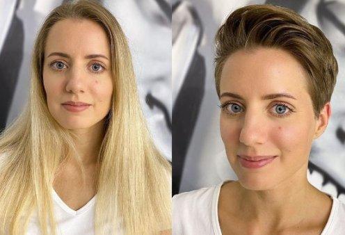 Kαταπληκτικό! 70 γυναίκες με μακριά μαλλιά τόλμησαν να κουρευτούν! Τα κοντά τις μεταμόρφωσαν- Δείτε πως τις προτιμάτε (φωτό) - Κυρίως Φωτογραφία - Gallery - Video