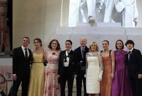 Ναόμι, Φίνεγκαν, Μέισι & Νάταλι : Τι φόρεσαν οι 4 εγγονές του νέου Προέδρου το βράδυ στην ορκωμοσία & το βράδυ στο πάρτι (φώτο) - Κυρίως Φωτογραφία - Gallery - Video