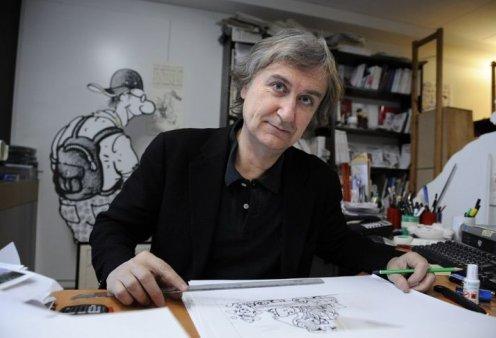 Τέλος εποχής: Ο ιστορικός σκιτσογράφος Plantu αποχωρεί από τη Le Monde ύστερα από 50 χρόνια (φώτο) - Κυρίως Φωτογραφία - Gallery - Video