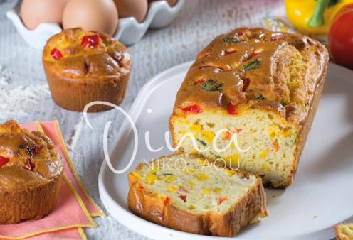 Ντίνα Νικολάου: Δοκιμάστε να φτιάξετε το λαχταριστό της αλμυρό κέικ με καλαμπόκι και τόνο   - Κυρίως Φωτογραφία - Gallery - Video