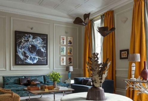 Βρες τις κατάλληλες κουρτίνες για το σαλόνι σου: Χρωματιστές ή λευκές, μοντέρνες ή παραδοσιακές (φωτό) - Κυρίως Φωτογραφία - Gallery - Video