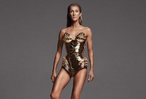 Throwback βίντεο: Η Celine Dion με χρυσή ολόσωμη φόρμα χορεύει και τραγουδάει το Declaration of Love, απίστευτη ενέργεια - Κυρίως Φωτογραφία - Gallery - Video
