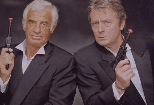 Τότε & τώρα: Τα δύο ιερά τέρατα του γαλλικού σινεμά: Alain Delon - Jean Paul Belmondo μαζί στην οθόνη, φίλοι στην ζωή (φωτό & βίντεο) - Κυρίως Φωτογραφία - Gallery - Video