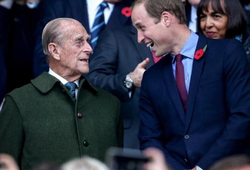 Πένθος και στην ιστοσελίδα του πρίγκιπα Ουίλιαμ και της Κέιτ -  Το διαδικτυακό αντίο του διάδοχου του θρόνου στον παππού του (φωτό) - Κυρίως Φωτογραφία - Gallery - Video
