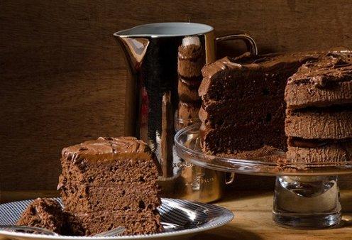 Ένας γλυκό, σκέτος πειρασμός από τον Στέλιο Παρλιάρο: Κέικ σοκολάτας γεμιστό με τσοκοπάστα - αφράτο & με πλούσια γεύση - Κυρίως Φωτογραφία - Gallery - Video