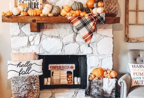 """Μοντέρνες & φθινοπωρινές ιδέες διακόσμησης  - Θα δώσουν στο σπίτι σας κομψό στυλ & """"cozy"""" ατμόσφαιρα (φώτο) - Κυρίως Φωτογραφία - Gallery - Video"""