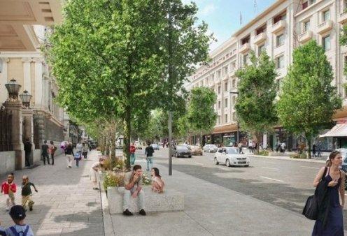 Η Αθήνα αλλιώς: Η Πανεπιστημίου με 87 πλατάνια, 4.270 τ.μ στους πεζούς και 2.260 τ.μ πρασίνου (φωτό) - Κυρίως Φωτογραφία - Gallery - Video