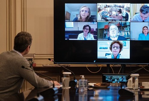 Ποια είναι η Αναστασία, η Αντωνία, η Ελένη & η Μηλίτσα: Οι 4 εντατικολόγοι σε teleconference με τον Πρωθυπουργό - Τι του είπαν; (φωτό) - Κυρίως Φωτογραφία - Gallery - Video