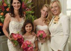 Τζούλια Λεμίγκοβα: ''Πως είπα στα παιδιά μου ότι η Μαρτίνα Ναβραντίλοβα είναι η νέα τους μαμά'' - Μόλις βγήκαν στην δημοσιότητα οι φωτογραφίες γάμου των δύο κοριτσιών! - Κυρίως Φωτογραφία - Gallery - Video 10