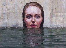"""Τις πνίγει ή όχι τις γυναίκες; Δείτε την """"υγρή"""" εμμονή του να τις ζωγραφίζει & να τις ρίχνει στο νερό  - Κυρίως Φωτογραφία - Gallery - Video 4"""