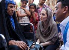 Αντζελίνα Τζολί: «...ηθικό καθήκον να βοηθήσουμε τους πρόσφυγες»  - Κυρίως Φωτογραφία - Gallery - Video