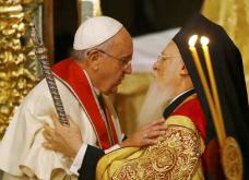 Ιστορική στιγμή: Μαζί στη Λειτουργία ο Πατριάρχης με τον Πάπα! (φωτό & βίντεο) - Κυρίως Φωτογραφία - Gallery - Video
