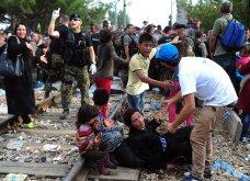 Σπαρακτικές φωτογραφίες με προσφυγόπουλα στα Σκόπια την ώρα των συγκρούσεων με την αστυνομία - Κυρίως Φωτογραφία - Gallery - Video 11