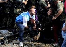 Σπαρακτικές φωτογραφίες με προσφυγόπουλα στα Σκόπια την ώρα των συγκρούσεων με την αστυνομία - Κυρίως Φωτογραφία - Gallery - Video 8