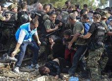 Σπαρακτικές φωτογραφίες με προσφυγόπουλα στα Σκόπια την ώρα των συγκρούσεων με την αστυνομία - Κυρίως Φωτογραφία - Gallery - Video 9
