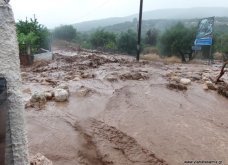 Εικόνες χάους από τη θεομηνία στην Κεφαλονιά - πλημμυρισμένα σπίτια & καταστήματα - Τεράστιες ζημιές   - Κυρίως Φωτογραφία - Gallery - Video 8