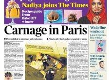 L' Horreur: Η Φρίκη - Τα πρωτοσέλιδα του τρόμου στην Γαλλία & εφημερίδες από όλο τον κόσμο για το αιματοκύλισμα στο Παρίσι - Κυρίως Φωτογραφία - Gallery - Video 6