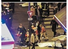 L' Horreur: Η Φρίκη - Τα πρωτοσέλιδα του τρόμου στην Γαλλία & εφημερίδες από όλο τον κόσμο για το αιματοκύλισμα στο Παρίσι - Κυρίως Φωτογραφία - Gallery - Video 10