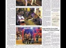 L' Horreur: Η Φρίκη - Τα πρωτοσέλιδα του τρόμου στην Γαλλία & εφημερίδες από όλο τον κόσμο για το αιματοκύλισμα στο Παρίσι - Κυρίως Φωτογραφία - Gallery - Video 5