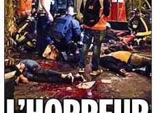 L' Horreur: Η Φρίκη - Τα πρωτοσέλιδα του τρόμου στην Γαλλία & εφημερίδες από όλο τον κόσμο για το αιματοκύλισμα στο Παρίσι - Κυρίως Φωτογραφία - Gallery - Video 4