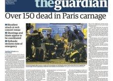 L' Horreur: Η Φρίκη - Τα πρωτοσέλιδα του τρόμου στην Γαλλία & εφημερίδες από όλο τον κόσμο για το αιματοκύλισμα στο Παρίσι - Κυρίως Φωτογραφία - Gallery - Video 9