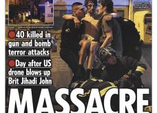 L' Horreur: Η Φρίκη - Τα πρωτοσέλιδα του τρόμου στην Γαλλία & εφημερίδες από όλο τον κόσμο για το αιματοκύλισμα στο Παρίσι - Κυρίως Φωτογραφία - Gallery - Video 7
