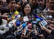 Αυτή είναι η πρώτη γυναίκα πρόεδρος στην Ταϊβάν - με συντριπτική πλειοψηφία η εκλογή της - Κυρίως Φωτογραφία - Gallery - Video 8