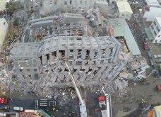 Συγκλονιστικές εικόνες από τον τρομακτικό σεισμό στην Ταιβάν: Τα 6,4 ρίχτερ γκρέμισαν κτίρια, ισοπέδωσαν σπίτια και σκότωσαν 18 - Κυρίως Φωτογραφία - Gallery - Video