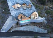 Αριστούργημα ή έκτρωμα; Μια συγκλονιστική βίλα αλά Gaudi παράχωσε σε βράχο με θέα θάλασσα ο ιδιοφυής αρχιτέκτων - Κυρίως Φωτογραφία - Gallery - Video