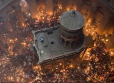 Στην Ελλάδα το Άγιο Φώς - Δείτε συγκλονιστικές εικόνες από την Τελετή Αφής στα Ιεροσόλυμα  - Κυρίως Φωτογραφία - Gallery - Video