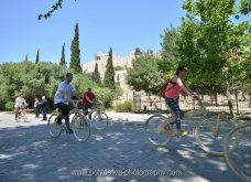 Good News: Με ξύλινα ποδήλατα γέμισε η Αθήνα - Δείτε φωτό από την ποδηλατοδρομία - Κυρίως Φωτογραφία - Gallery - Video 4